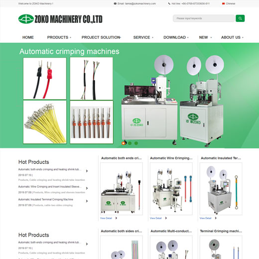 ZOKO Machinery Co., Ltd